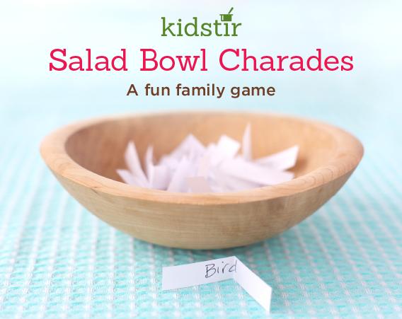 Salad Bowl Game Charades