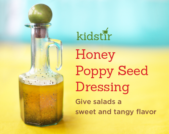 Poppy Seed Salad Dressing Made by Kids