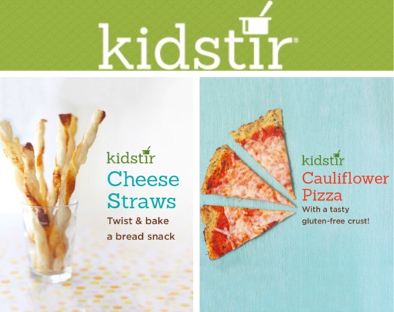 Kids can make Cheese Straws & Pizza