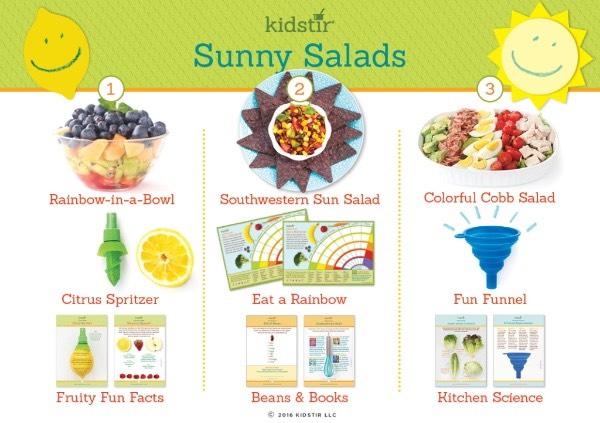 Sunny Salads Kit News