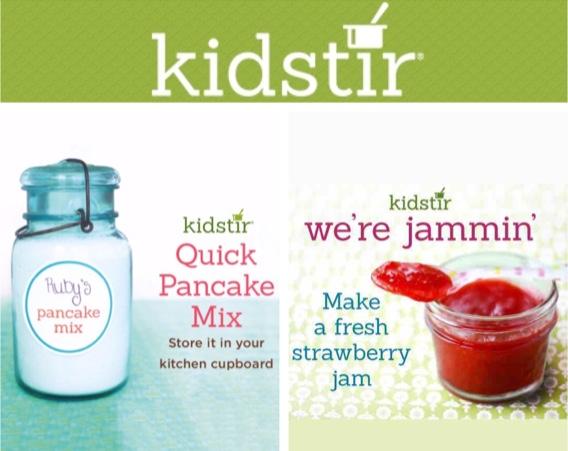 Pancake Mix & Make Fresh Strawberry Jam with kids