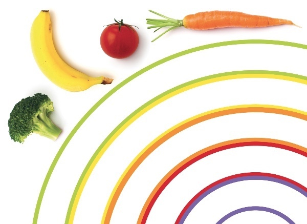 Eat Rainbow Veggies Kids