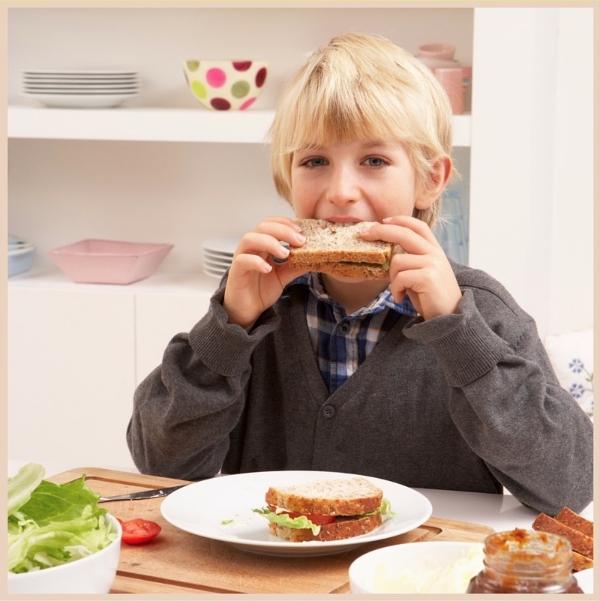 August National Sandwich Month Kids