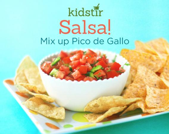 Pico De Gallo Fresh Salsa Recipe for Kids to Make