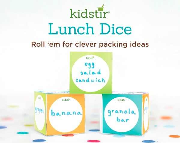 Lunch Decision Dice