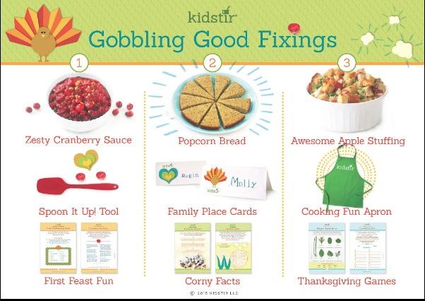 Kids Thanksgiving cooking kits