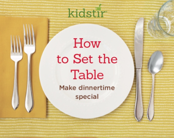 table setting places