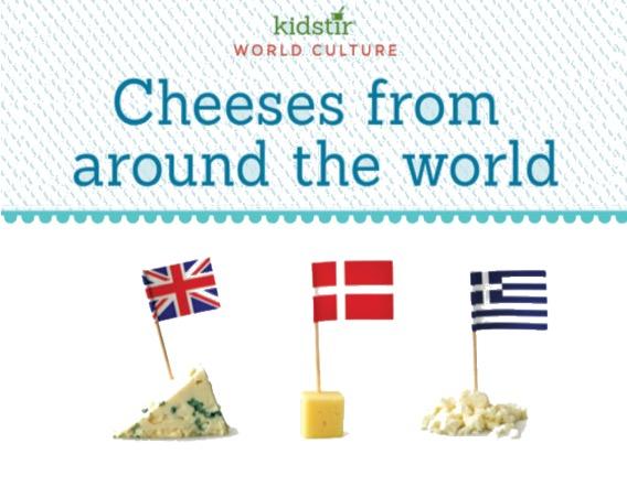 World Cheese Flavors Kids