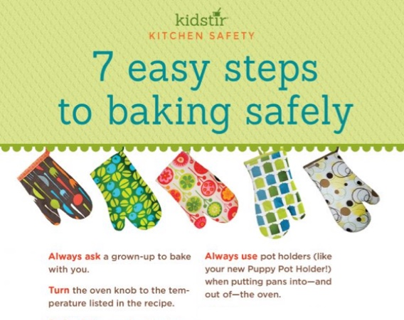 Baking Box for Kids-Safety instructions