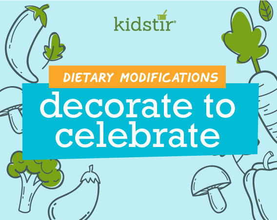 Decorate to Celebrate Dietary Modifications