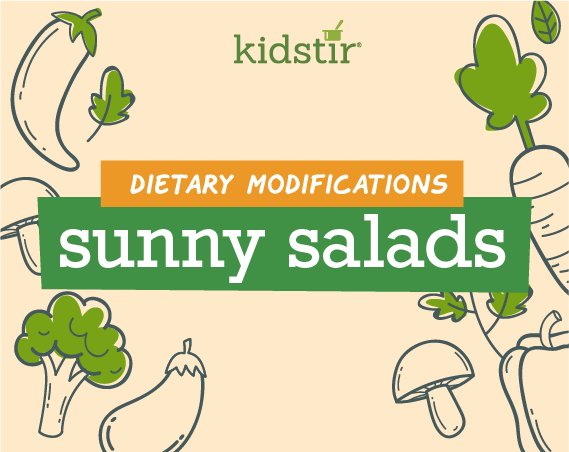 Sunny Salads Dietary Modifications