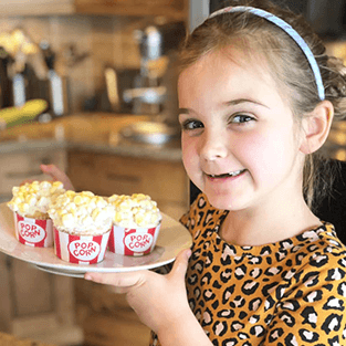 popcorn cooking box for kids